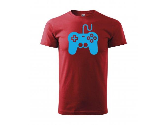 Gamepad červené+modrá
