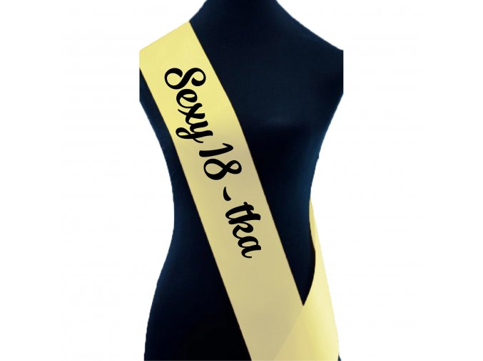 Sexy 18 tka sv. žlut
