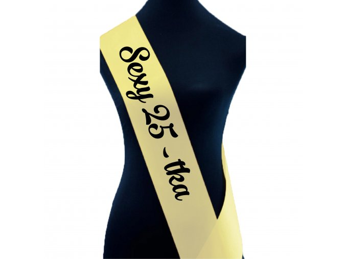 Sexy 25 tka sv. žlut