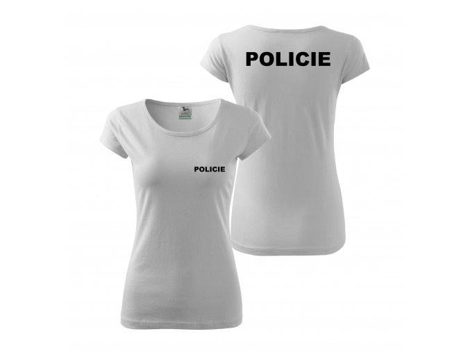 Policie bí+č d