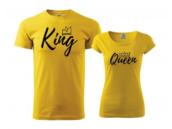 King Queen žlu