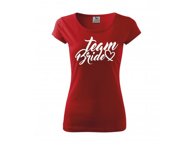 Team Bride červ+bí