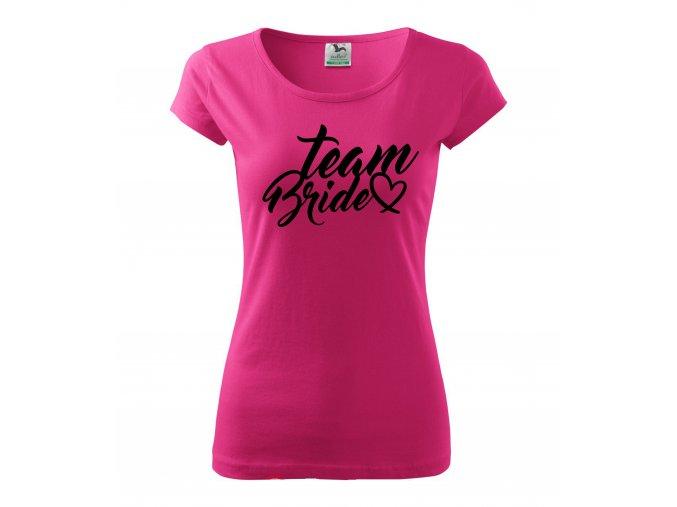 Team Bride růž+č