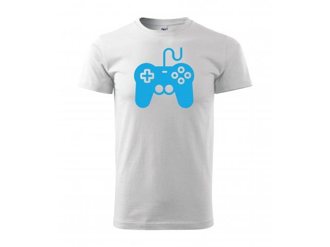Gamepad bílé+modrá