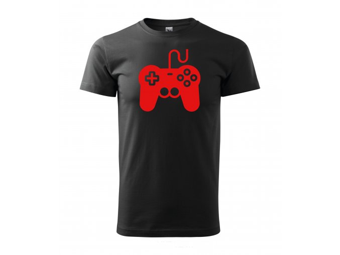 Gamepad černé+červená