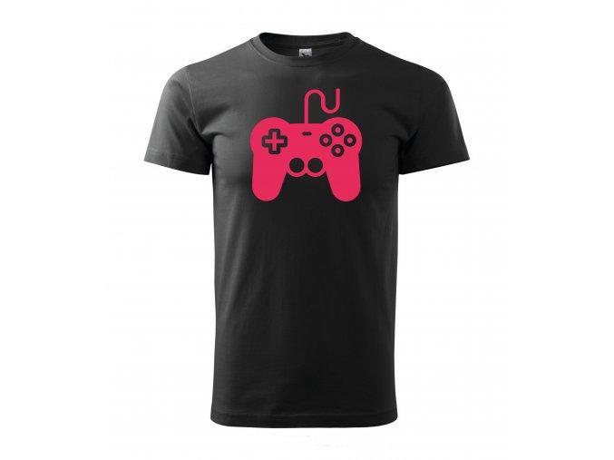 Gamepad černé+růžová