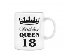 Hrnky nové návrhy birthday queen