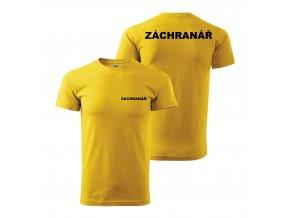 Záchranář žlutý+č