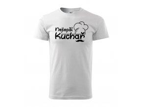Tričko pro kuchaře 343 bílé