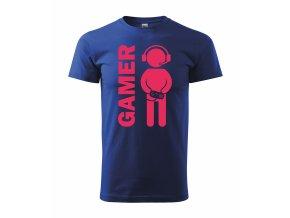 Gamer král. modrá+růžová
