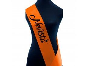 Nevěsta oranžová+černý