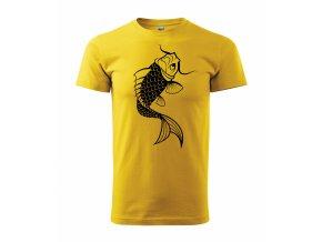 Tričko na ryby 180 žluté
