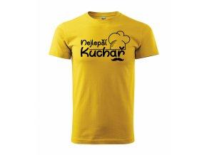 Tričko pro kuchaře 343 žluté
