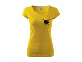 Tričko pro švadleny 328 žluté