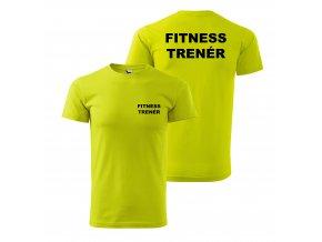 Fitness Trenér lime