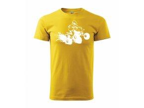 Tričko se čtyřkolkou 115 žluté