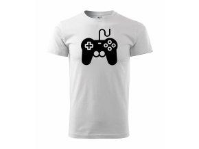 Gamepad bílé+černá