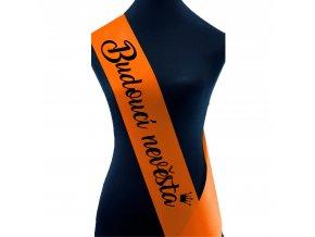 Budoucí nevěsta oranžová+černý
