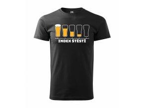 Tričko pro pivaře 412 černé