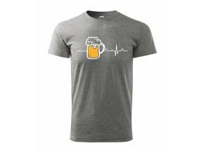 Tričko pro pivaře 281 šedá