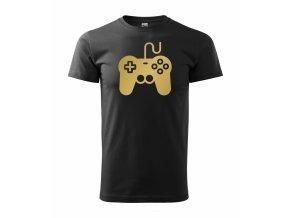 Gamepad černé+zlato