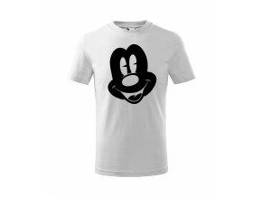 Tričko dětské Mickey 272 bílé/černý potisk
