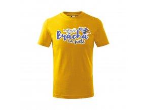 Tričko Nejlepší brácha 430 - žluté