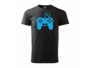 Gamepad černé+modrá