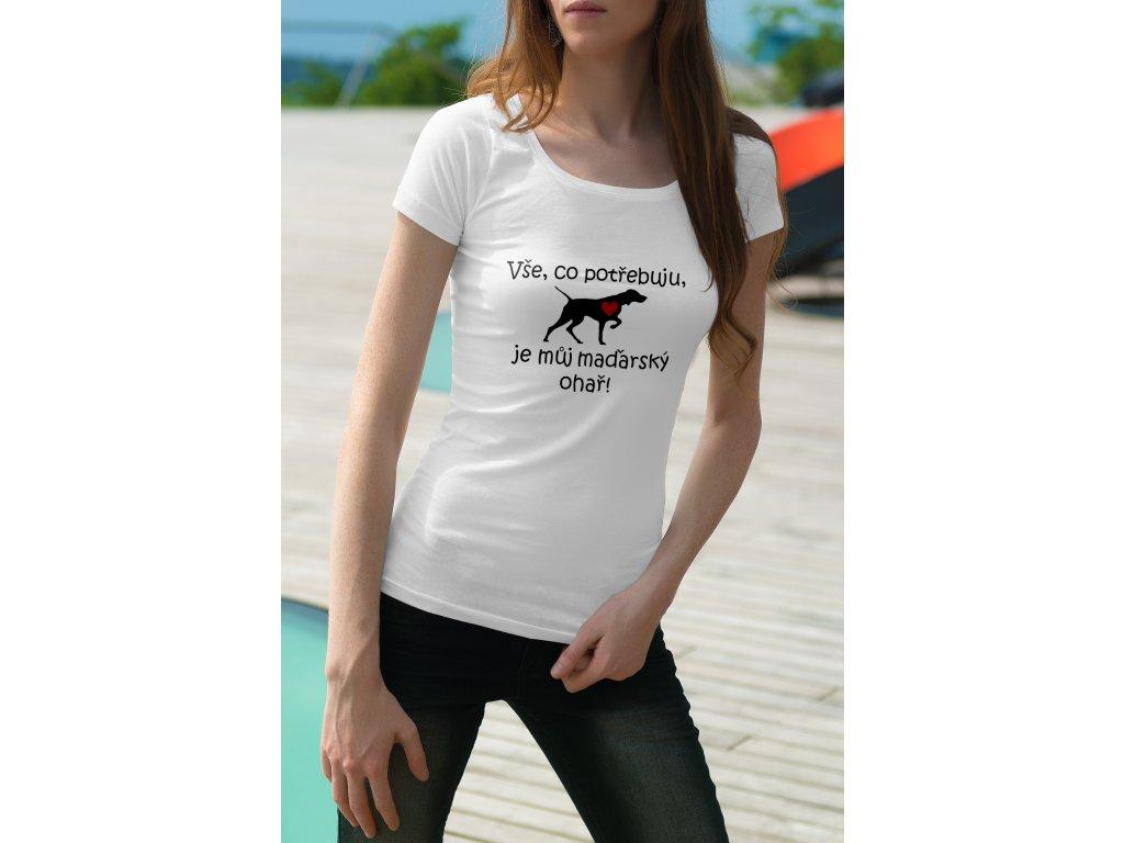 triko Maďarský ohař