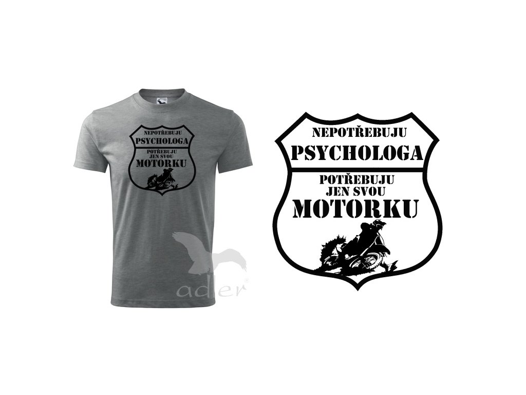 triko Psycholog cross