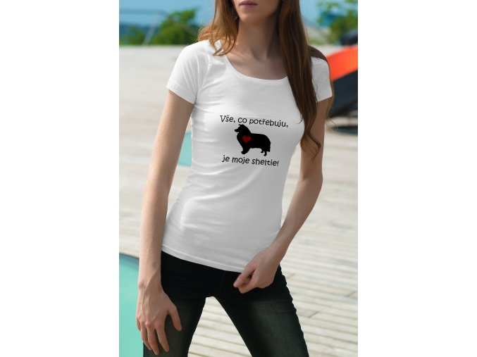sheltie tričko
