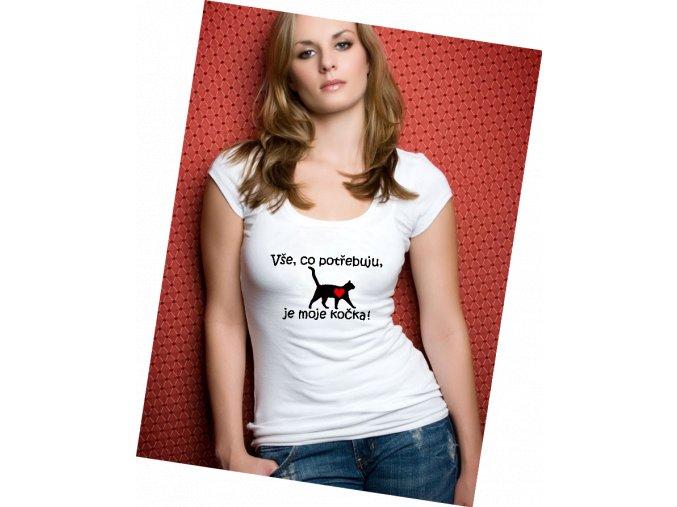 triko Kočka domácí 1