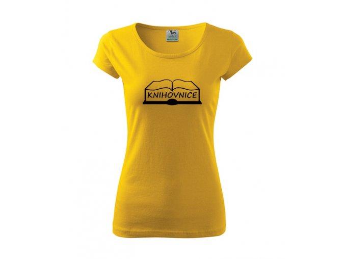 triko knihovnice