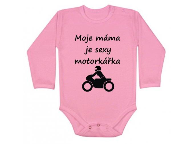 sexy motorkářka