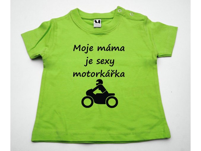 máma sexy motorkářka