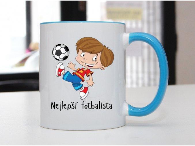hrnek fotbalista