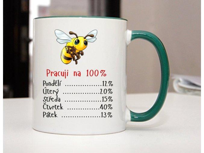 hrnek včelka