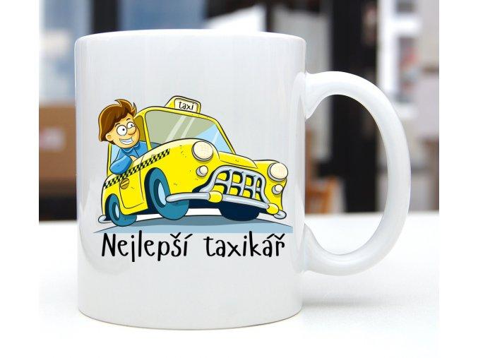 hrnek taxikář