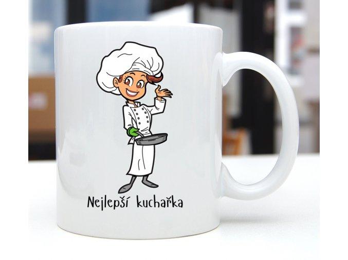 hrnek kuchařka