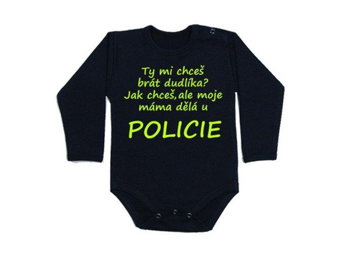 Bodýčko Máma u policie