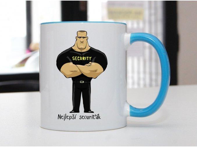 hrnek securiťák
