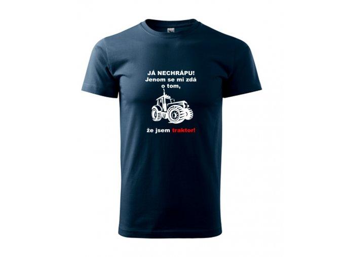 triko já nechrápu traktor
