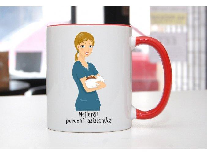 hrnek porodní asistentka