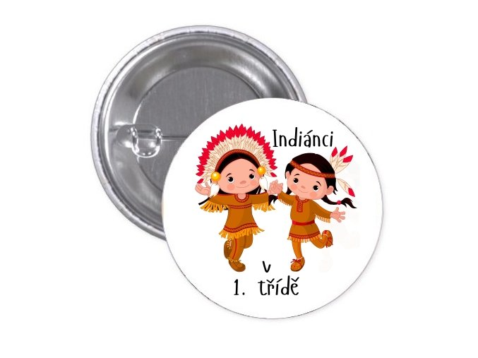 indiánci v 1.třídě