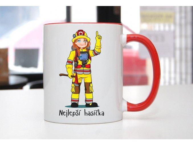 hrnek hasička