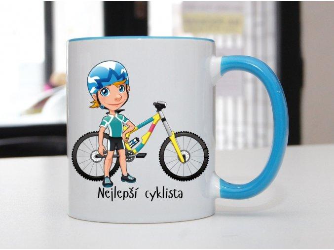 hrnek cyklista