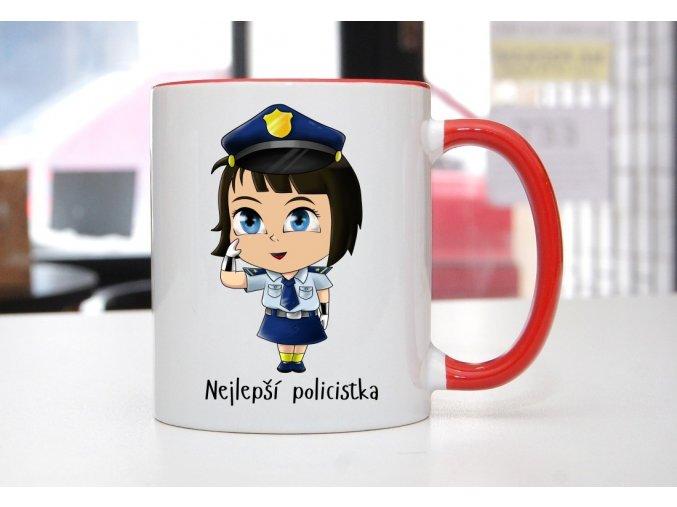 hrnek policistka