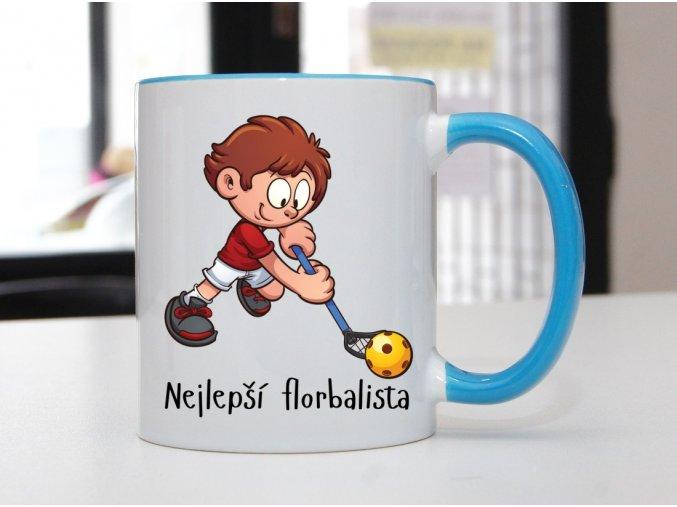 hrnek florbalista