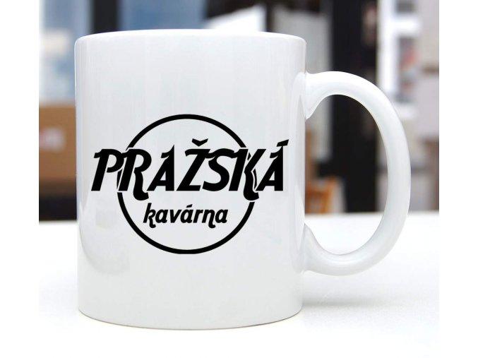 hrnek pražská kavárna