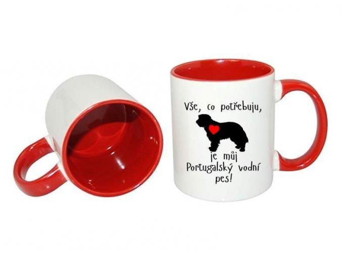 portugalský vodní pes hrnek